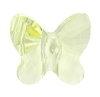 Swarovski 5754 Butterfly Bead 6mm Jonquil (360 Pieces)