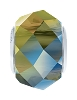 Swarovski 5948 BeCharmed Briolette Bead 14mm Crystal Iridescent Green (12 Pieces)
