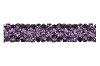 Swarovski 5951 Fine Rocks Tube Bead (Without Ending) 30mm Amethyst