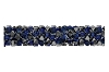 Swarovski 5951 Fine Rocks Tube Bead (Without Ending) 30mm Crystal Bermuda Blue