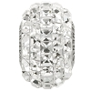 Swarovski 80201 BeCharmed Pave Fancy Square Bead 15mm Crystal (12 Pieces)