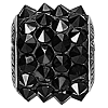 Swarovski 80901 BeCharmed Pave Spike Bead 11.5mm Jet (12 Pieces)
