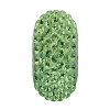 Swarovski 81101 BeCharmed Pave Slim Bead 13.5mm Peridot (12 Pieces)