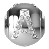 Swarovski BeCharmed 82201 Letter Bead 12x11mm: A