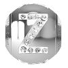 Swarovski BeCharmed 82201 Letter Bead 12x11mm: Z