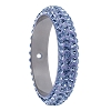 Swarovski 85001 Pave Thread Ring 1 Hole 14.5mm Light Sapphire (6 Pieces)