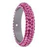 Swarovski 85001 Pave Thread Ring 1 Hole 14.5mm Rose (6 Pieces)