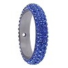 Swarovski 85001 Pave Thread Ring 1 Hole 14.5mm Sapphire (6 Pieces)