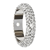 Swarovski 85001 Pave Thread Ring 2 Holes 16.5mm Crystal (2 Pieces)