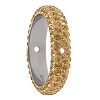 Swarovski 85001 Pave Thread Ring 2 Holes 16.5mm Crystal Golden Shadow (6 Pieces)
