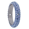 Swarovski 85001 Pave Thread Ring 2 Holes 18.5mm Light Sapphire (2 Pieces)