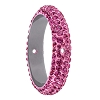 Swarovski 85001 Pave Thread Ring 2 Holes 14.5mm Rose (6 Pieces)