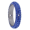 Swarovski 85001 Pave Thread Ring 2 Holes 14.5mm Sapphire (6 Pieces)