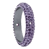 Swarovski 85001 Pave Thread Ring 2 Holes 18.5mm Tanzanite (2 Pieces)