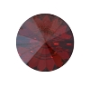 Swarovski 3015 Rivoli Button 14mm Crystal Red Magma (6 Pieces) - CLEARANCE