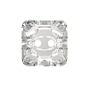 Swarovski 3017 Square Button 14mm Crystal (36 Pieces)