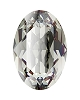Swarovski 4120 Oval Fancy Stone 4x2.7mm Black Diamond (720 Pieces)