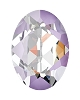 Swarovski 4120 Oval Fancy Stone 14x10mm Crystal Lavender DeLite (144 Pieces)
