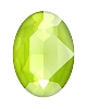 Swarovski 4120 Oval Fancy Stone 18x13mm Crystal Lime