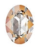 Swarovski 4120 Oval Fancy Stone 18x13mm Crystal Peach DeLite