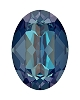 Swarovski 4120 Oval Fancy Stone 14x10mm Crystal Royal Blue DeLite (144 Pieces)