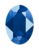 Swarovski 4120 Oval Fancy Stone 18x13mm Crystal Royal Blue