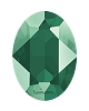 Swarovski 4120 Oval Fancy Stone 18x13mm Crystal Royal Green