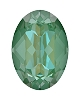 Swarovski 4120 Oval Fancy Stone 14x10mm Crystal Silky Sage DeLite (144 Pieces)