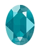 Swarovski 4120 Oval Fancy Stone 18x13mm Crystal Azure Blue