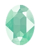Swarovski 4120 Oval Fancy Stone 14x10mm Crystal Mint Green (144 Pieces)