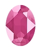 Swarovski 4120 Oval Fancy Stone 14x10mm Crystal Peony Pink (144 Pieces)