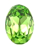 Swarovski 4120 Oval Fancy Stone 6x4mm Peridot (360 Pieces)