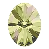 Swarovski 4122 Oval Rivoli Fancy Stone 8x6mm Crystal Luminous Green (180 Pieces)