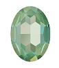 Swarovski 4127 Large Oval Fancy Stone 30x22mm Crystal Silky Sage DeLite