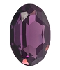 Swarovski 4127 Large Oval Fancy Stone 30x22mm Amethyst
