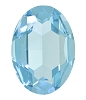 Swarovski 4127 Large Oval Fancy Stone 30x22mm Aqua