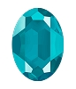 Swarovski 4127 Large Oval Fancy Stone 30x22mm Crystal Azure Blue