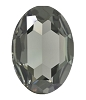 Swarovski 4127 Large Oval Fancy Stone 30x22mm Black Diamond