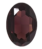 Swarovski 4127 Large Oval Fancy Stone 30x22mm Burgundy