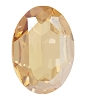 Swarovski 4127 Large Oval Fancy Stone 30x22mm Crystal Golden Shadow