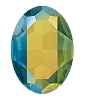 Swarovski 4127 Large Oval Fancy Stone 30x22mm Crystal Iridescent Green