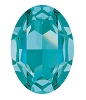 Swarovski 4127 Large Oval Fancy Stone 30x22mm Light Turquoise