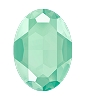Swarovski 4127 Large Oval Fancy Stone 30x22mm Crystal Mint Green