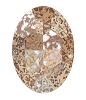 Swarovski 4127 Large Oval Fancy Stone 30x22mm Crystal Rose Patina
