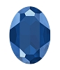 Swarovski 4127 Large Oval Fancy Stone 30x22mm Crystal Royal Blue