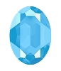 Swarovski 4127 Large Oval Fancy Stone 30x22mm Crystal Summer Blue