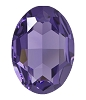 Swarovski 4127 Large Oval Fancy Stone 30x22mm Tanzanite