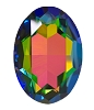 Swarovski 4127 Large Oval Fancy Stone 30x22mm Crystal Vitrail Medium