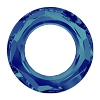 Swarovski 4139 Cosmic Round Ring Fancy Stone 14mm Crystal Bermuda Blue (72 Pieces)