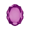 Swarovski 4142 Baroque Mirror Fancy Stone 10x8mm Amethyst (72 Pieces)